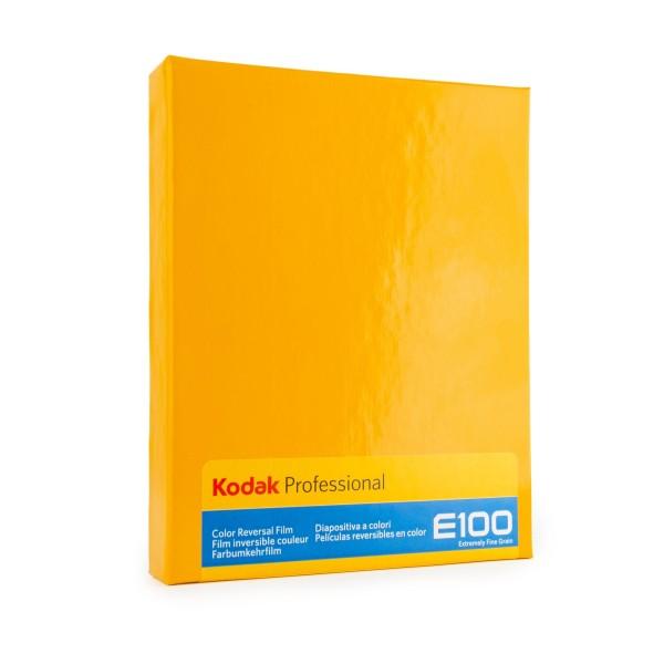 """Kodak Ektachrome E100 4x5"""" / 10 Sheet"""