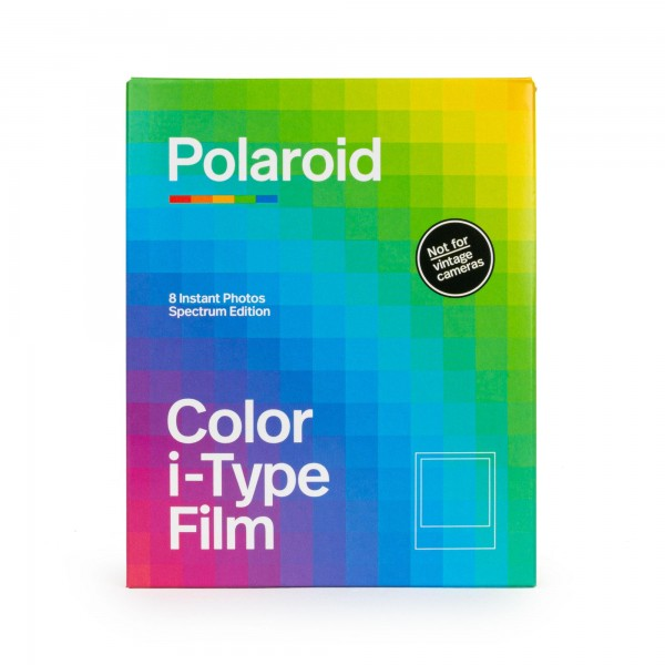 Polaroid I-Type Color, Spectrum, 8 Bilder