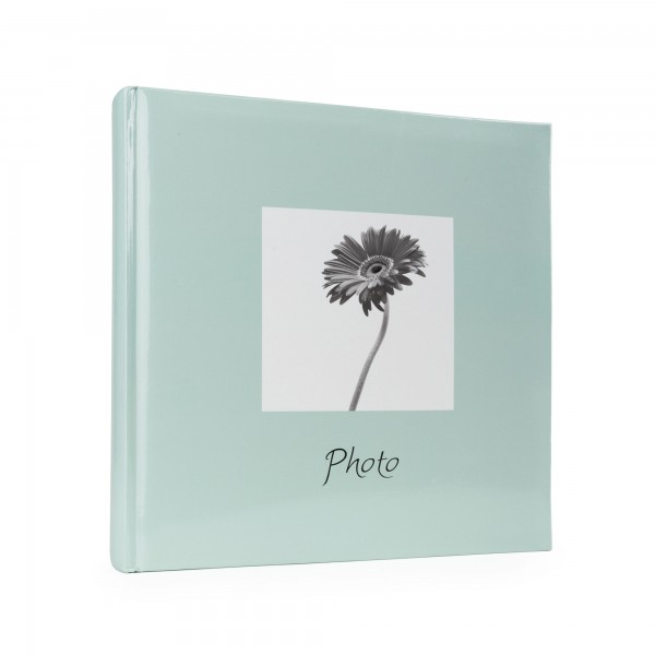 "Jumbo Fotoalbum ""Susi Pastell"", -Eisblau- 30x30 cm, 100 Blatt weiß"