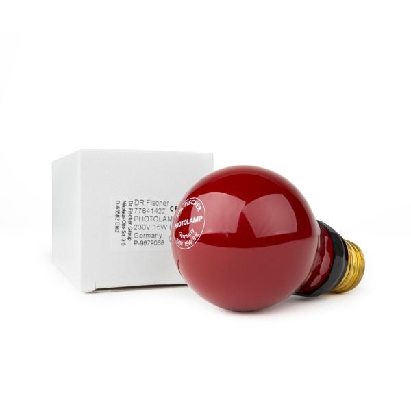 DUKA Dunkelkammer-Lampe rot 230V/15W E27