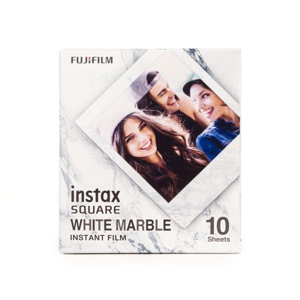 Fuji Instax Square White Marble Film 10 Blatt