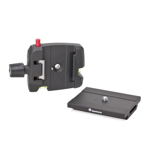 Manfrotto MSQ6 Schnellwechseladapter mit Platte