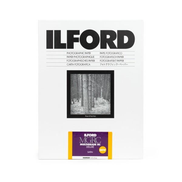 Ilford Multigrade V 25M RC DeLuxe satin 24 x 30,5 cm 50 Blatt