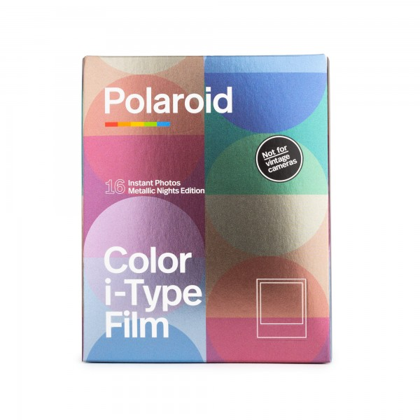 Polaroid I-Type Set (2x) - Metallic Nights - 16 Bilder