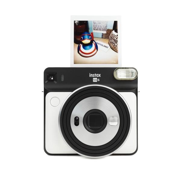 Fuji Instax SQUARE SQ 6 Sofortbildkamera Pearl White