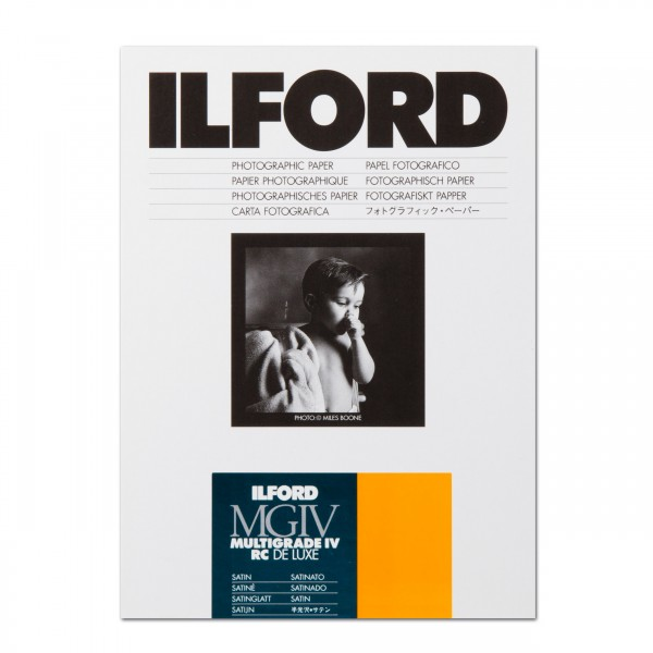 Ilford Multigrade IV 25M RC satin 12,7 x 17,8 cm 100 Blatt
