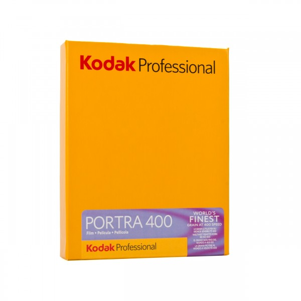 "Kodak Portra 400 4x5"" 10 Blatt"