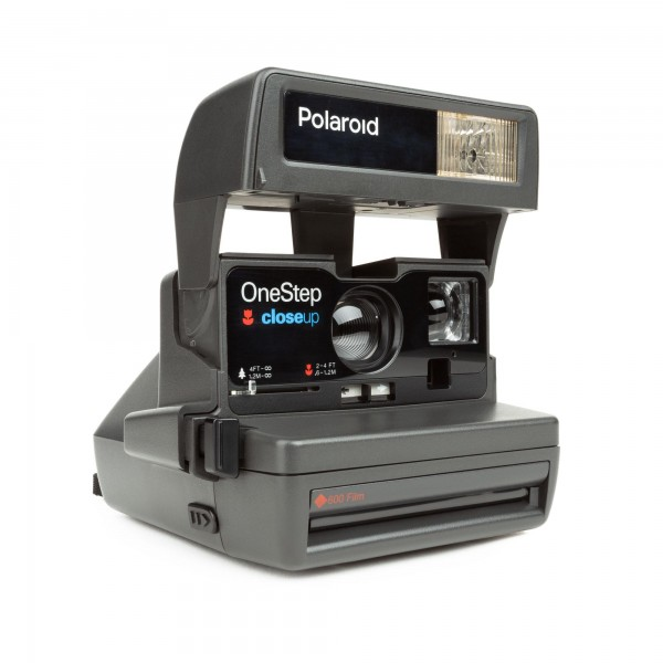 Polaroid 600 One Step Close up Refurbished