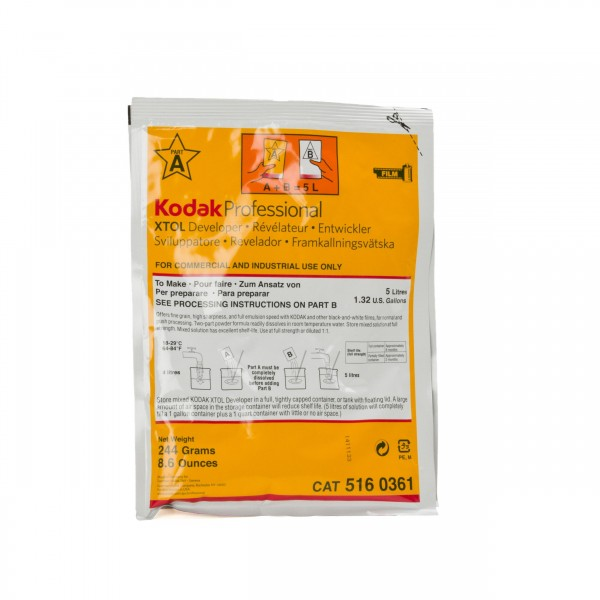 Kodak XTOL Entwickler Pulver für 5 Liter