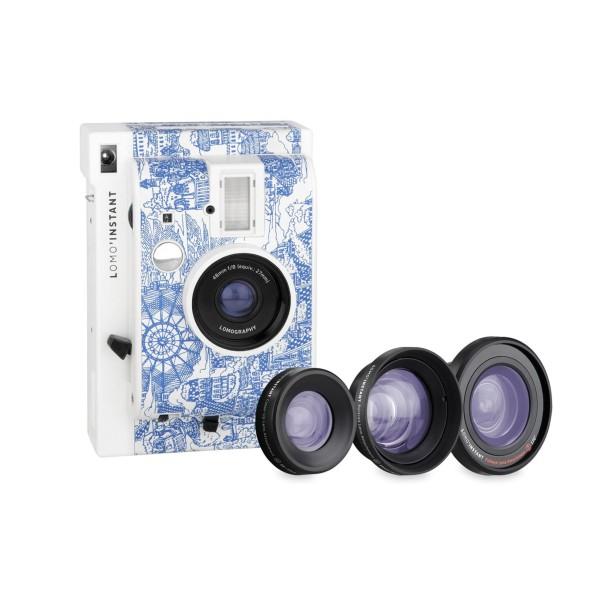 Lomography Instant Explorer Kamera inkl. 3 Objektive