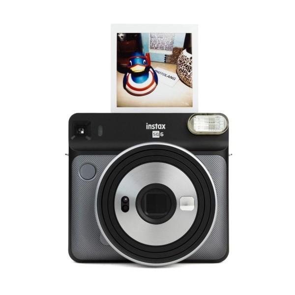 Fuji Instax SQUARE SQ 6 Sofortbildkamera Graphite Gray