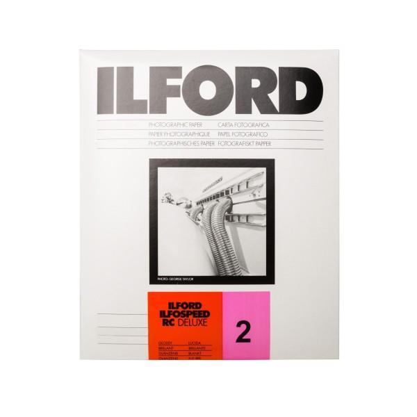 Ilford Ilfospeed RC 2.1M DeLuxe glossy 25 Blatt 12,7 x 17,8 cm