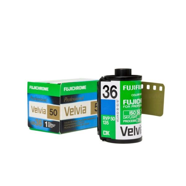 Fujifilm Velvia 50 RVP 135-36 - MHD: 03/2017