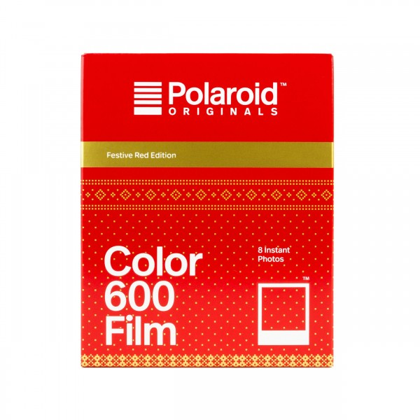 Polaroid 600 Color Festive Red