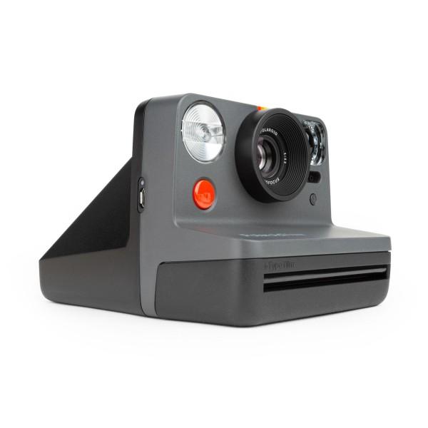 Polaroid Now Sofortbildkamera Schwarz