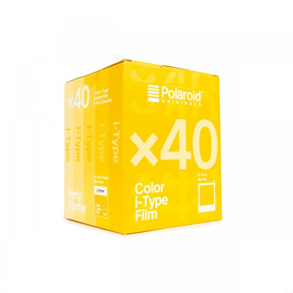 Polaroid I-Type Set (5x Color), 40 Bilder