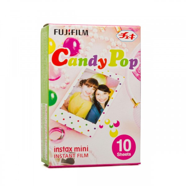 Fuji Instax Mini Candy Pop 10 Blatt