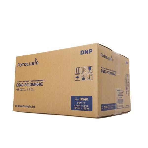 "DNP Print Kit DS40 4x6"" 800 Print 10x15cm"