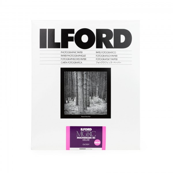 Ilford Multigrade V 1M RC DeLuxe glossy 17,8 x 24 cm 25 Blatt