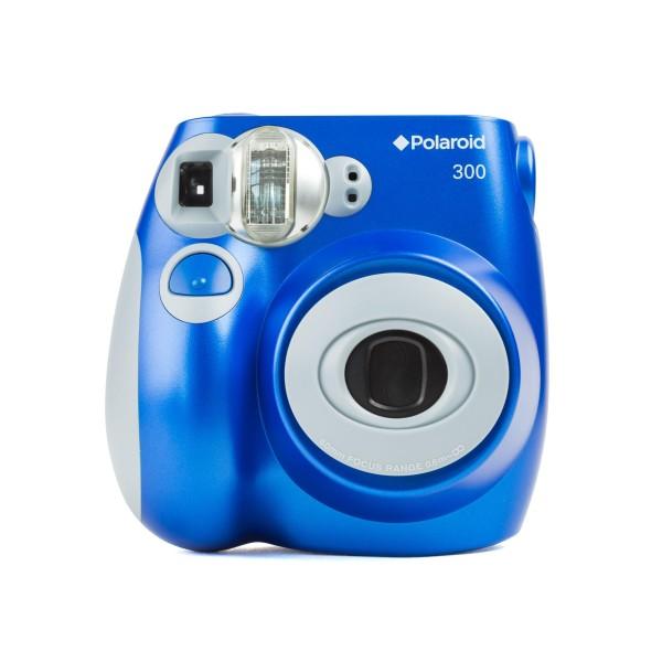 Polaroid 300 Sofortbildkamera blau