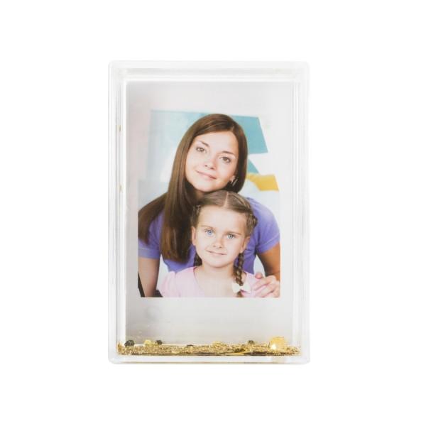 Fuji Instax Mini Magic Frame gold
