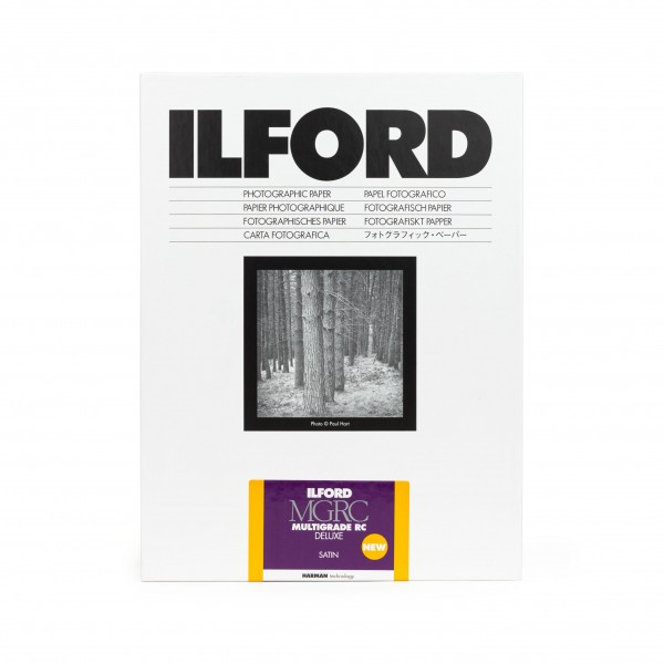 Ilford Multigrade V 25M RC DeLuxe satin 17,8 x 24 cm 100 Blatt