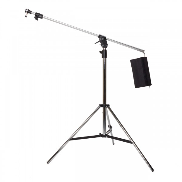 Manfrotto 420CSU, Combi Boom Stand HD Silber & G100