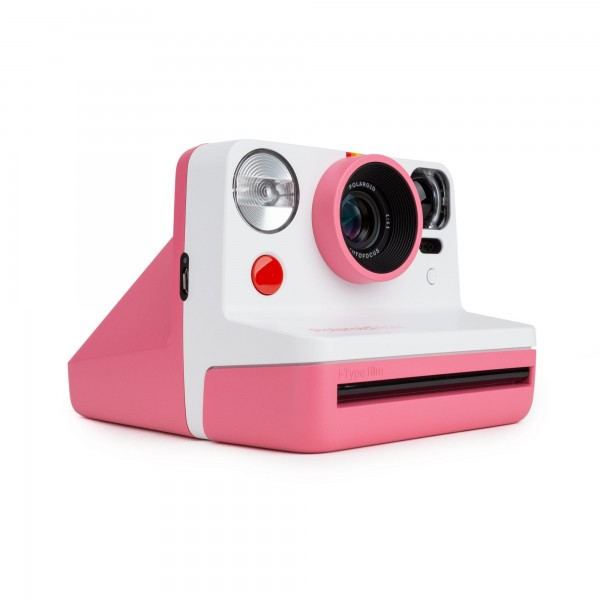 Polaroid Sofortbildkamera Now Pink