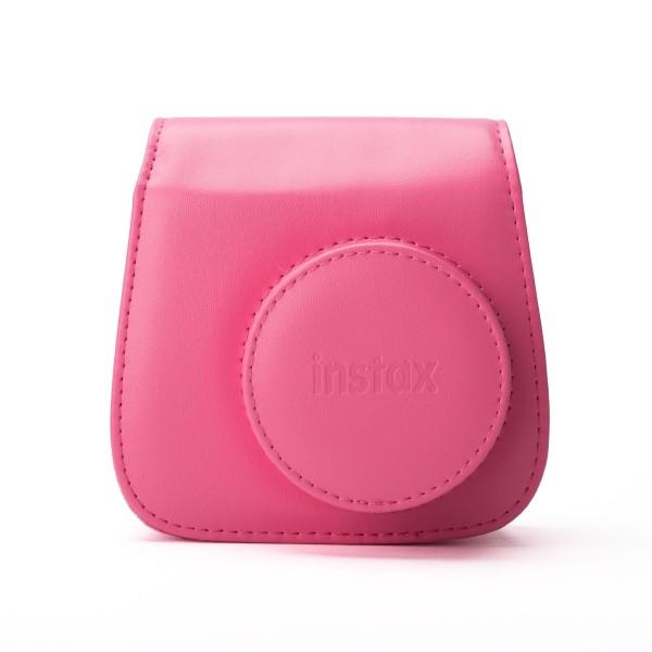 Fuji Instax Mini 9 Tasche, Kunstleder flamingo pink
