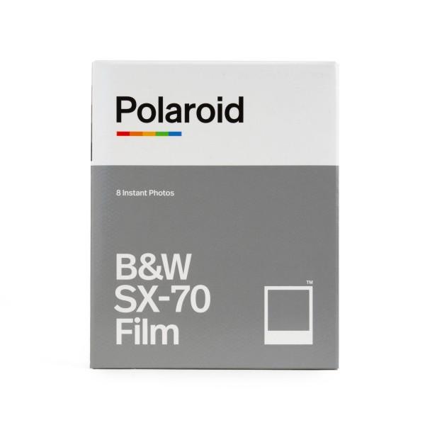 Polaroid SX-70 Schwarz/Weiß, 8 Bilder