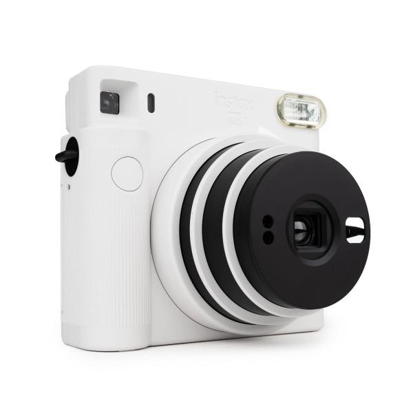 Fuji Instax SQUARE SQ1 Sofortbildkamera chalk white