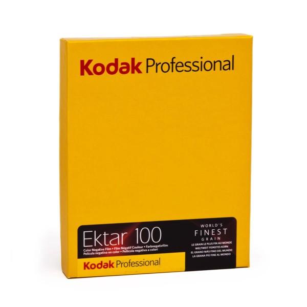 """Kodak Ektar 100 4x5"""" 10 Blatt"""