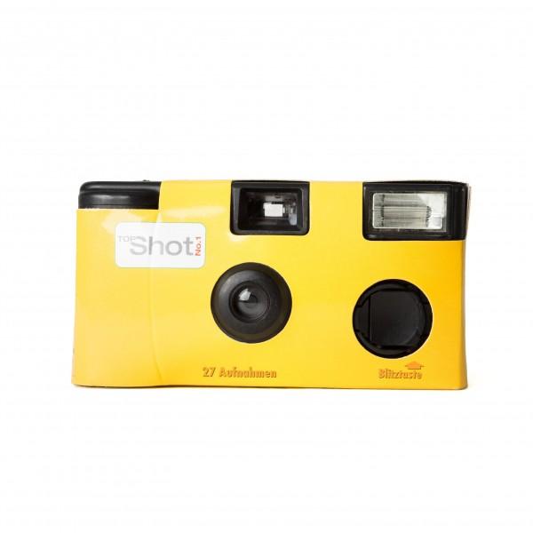 Einwegkamera TopShot 400 27 -gelb-