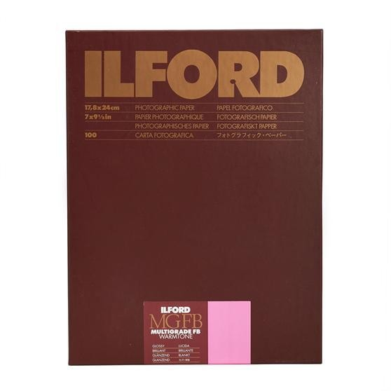 Ilford Multigrade FB Warmtone 1K glossy 17,8 x 24 cm 100 Blatt