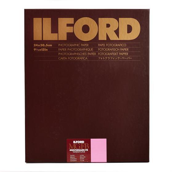 Ilford Multigrade FB Warmtone 1K glossy 24 x 30,5 cm 10 Blatt