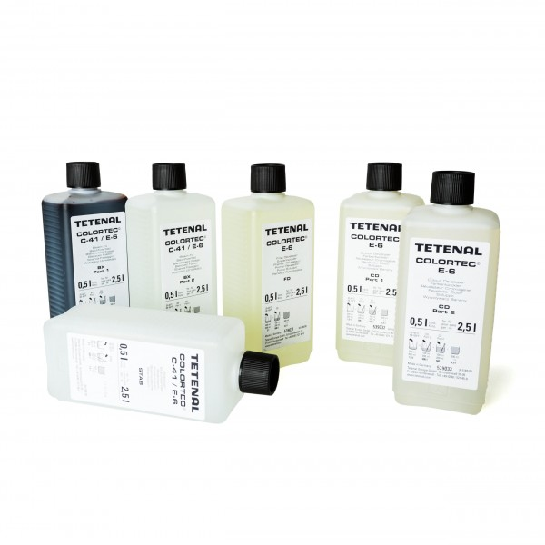 Tetenal Colortec E6 Kit (3-Bad) für 2,5L