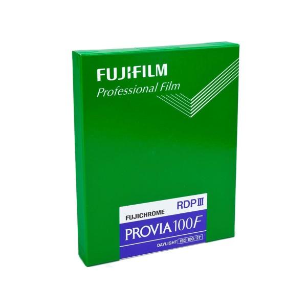 """Fujifilm Provia 100F RDP III 4x5"""" 20 Blatt"""