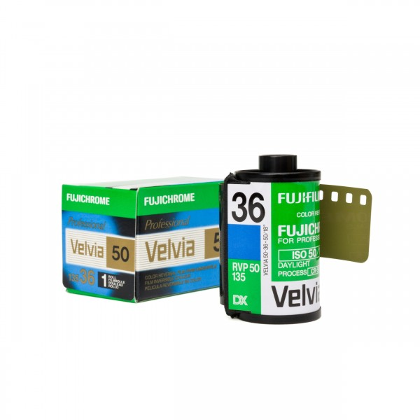 Fujifilm Velvia 50 RVP 135-36