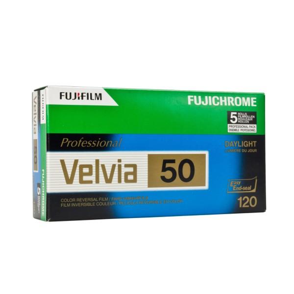 Fujifilm Velvia RVP 50 120 5er