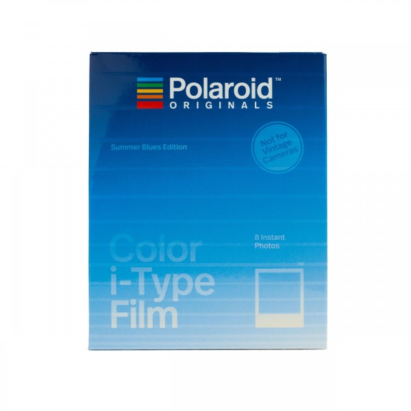 Polaroid I-Type Color, Summer Blues, 8 Bilder