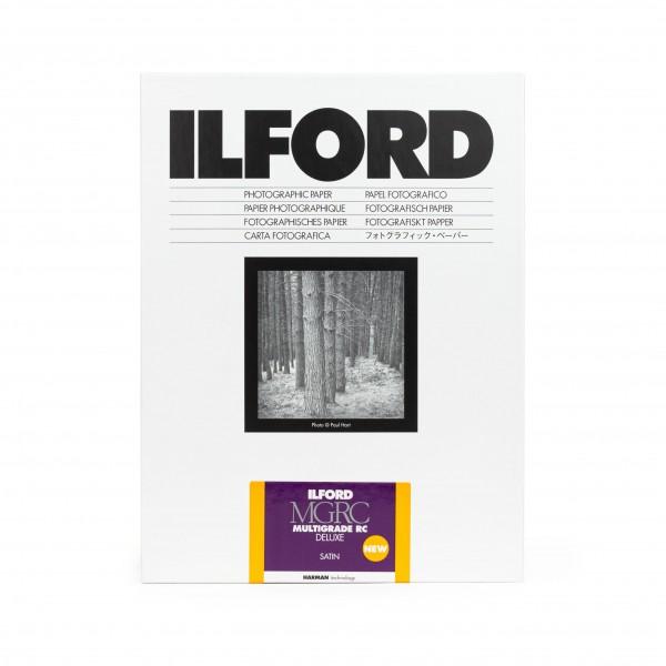 Ilford Multigrade V 25M RC DeLuxe satin 30,5 x 40,6 cm 50 Blatt