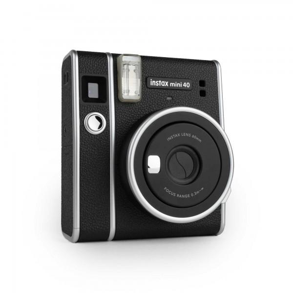 Fujifilm Instax Mini 40 EX D Sofortbildkamera schwarz