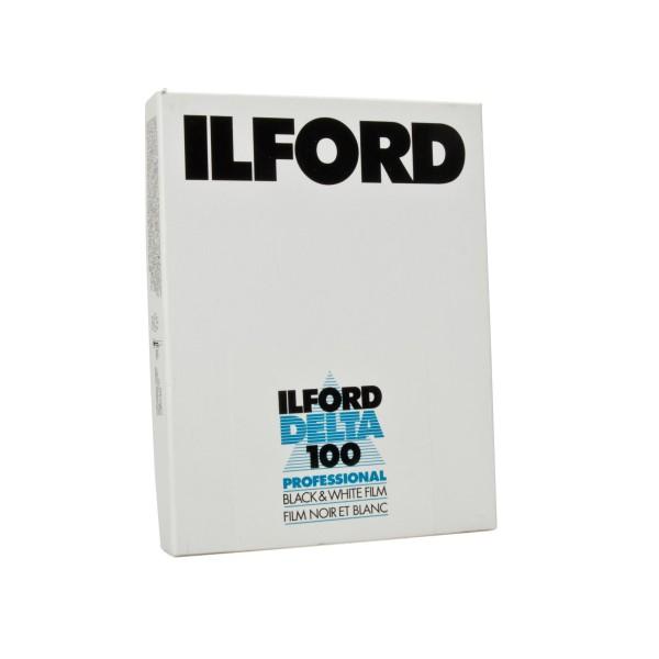 "Ilford Delta 100 4x5"" 25 Blatt"