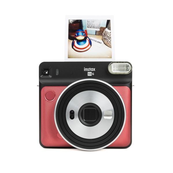 Fuji Instax SQUARE SQ 6 Sofortbildkamera Ruby Red
