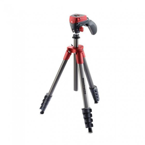 B-Ware Manfrotto COMPACT ACTION RED STATIV