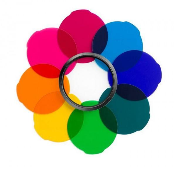 B-Ware Manfrotto Lumie Multicolour Filter Kit