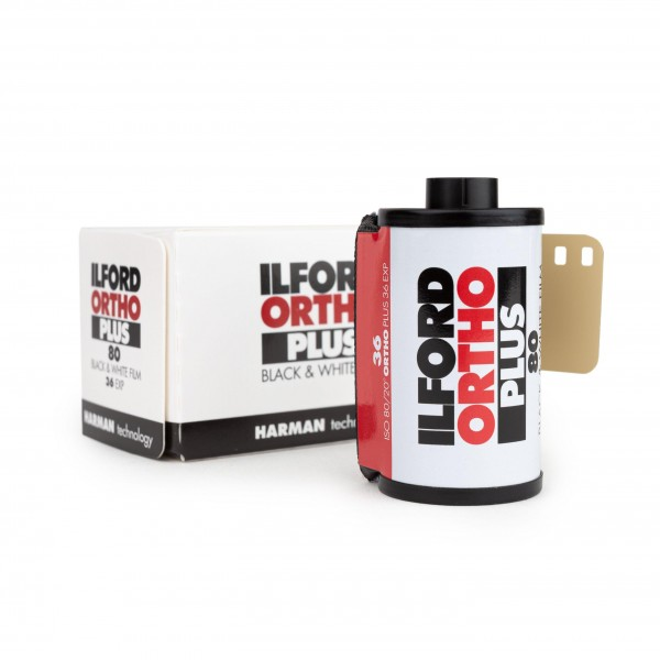 Ilford Ortho Plus 80 135-36