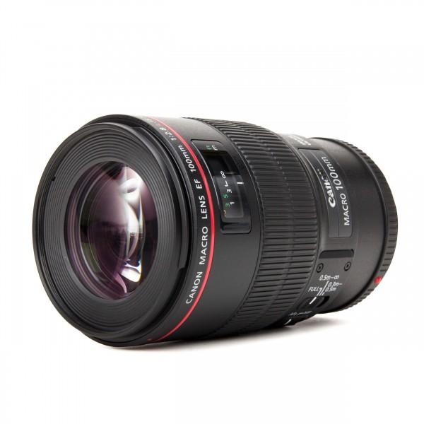 Canon EF 100 mm f2.8 L IS Macro USM Objektiv Festbrennweite