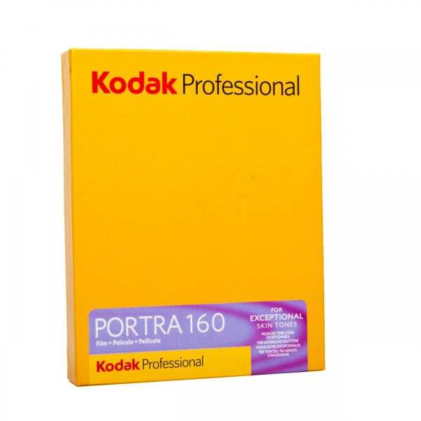 "Kodak Portra 160 4x5"" 10 Blatt"