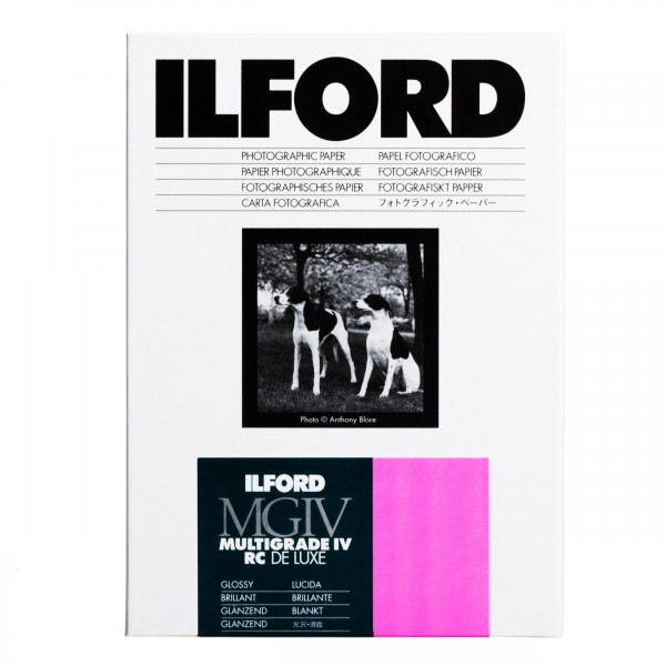 Ilford Multigrade IV 1M RC DeLuxe glossy 16,5 x 21,6 cm 100 Blatt